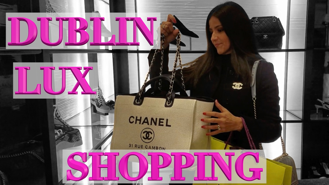 a28f68e53a83c5 Ireland Lux Shopping Vlog - Chanel, Louis Vuitton, Gucci, Louboutin, Hermes