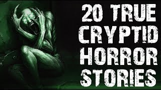 20 TRUE Terrifying Cryptid Encounter Horror Stories | Ft. The Paranormal Scholar | (Scary Stories)
