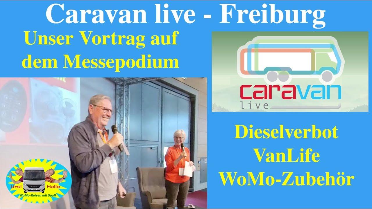 Caravanlive Freiburg - Unser Vortrag zum WoMo-Zubehör - # 223a
