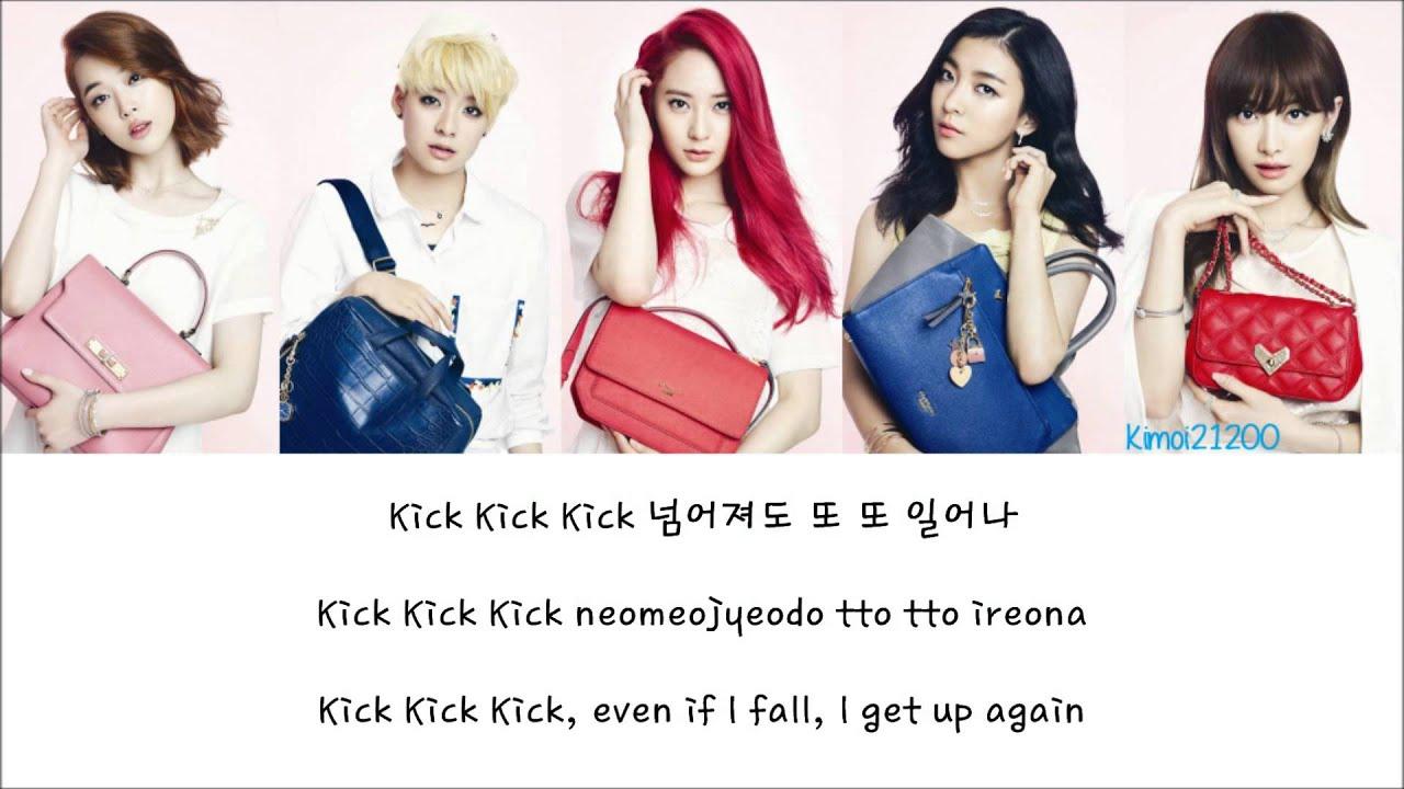 f(x) - Kick [Hangul/Romanization/English] Color & Picture ... F(x) Amber Rum Pum Pum Pum