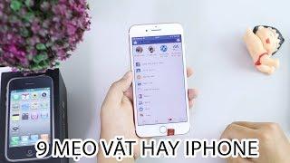 9 Mẹo vặt CỰC HAY trên iPhone mà SIÊU SAO nào cũng phải biết