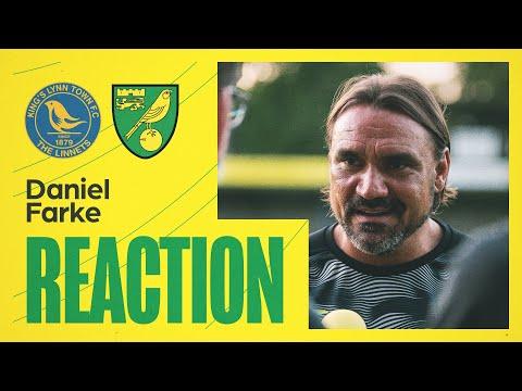 King's Lynn Town 1-3 Norwich City   Daniel Farke Reaction