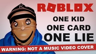 roblox song | credit card ninja | tinfoilbot (music video)
