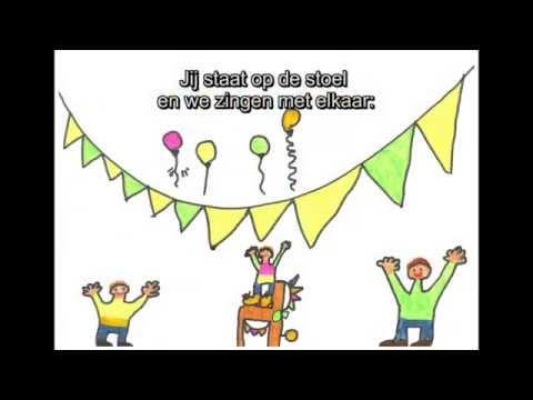 gefeliciteerd met je verjaardag song Videoclip 'Van harte gefeliciteerd' (met lyrics)   YouTube gefeliciteerd met je verjaardag song