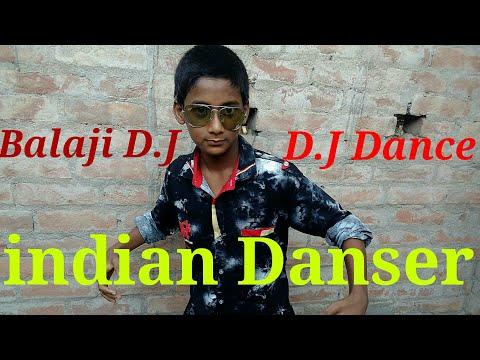 Balaji D.J Dance Indian danser