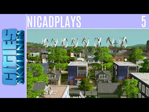 Cities: Skylines :: Ore Industry and Wind Power :: Episode 5