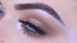 Bronze Shimmer Eye Makeup for Blue Eyes   Motives Cosmetics