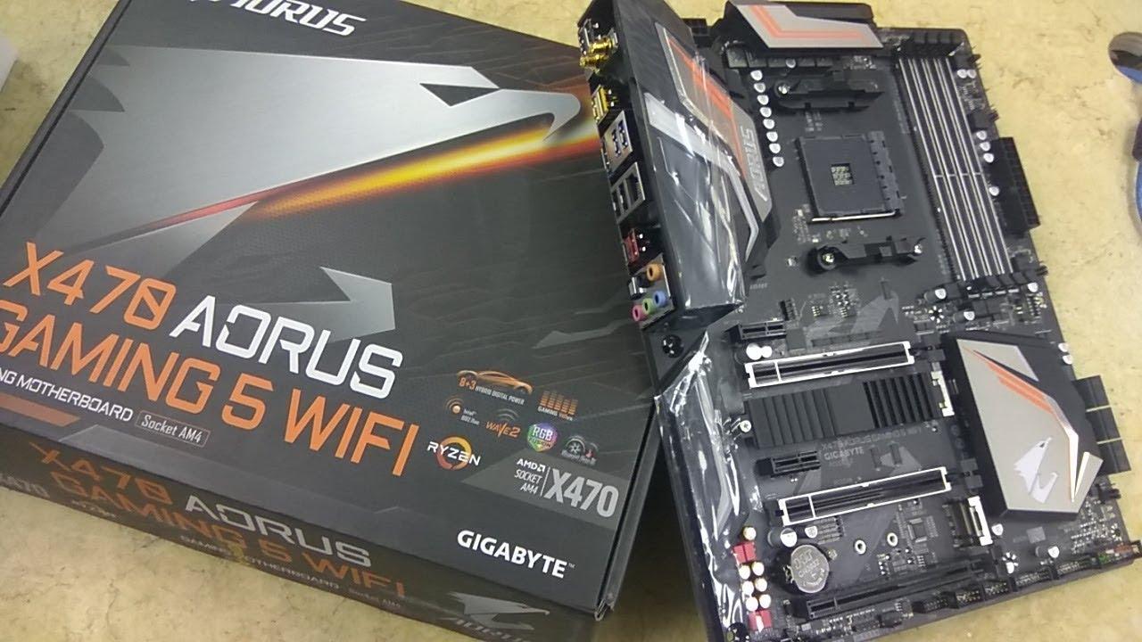 X470 Aorus Gaming 5 WiFi Gigabyte Ryzen 2nd Gen AM4 motherboard |Tech Land