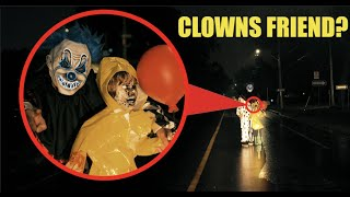 when you see this little clown boy on the side of the street DRIVE away FAST! (They Attacked Us!!)
