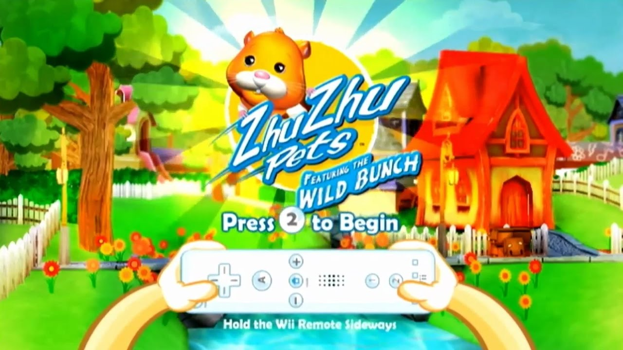 ZhuZhu Pets: Featuring The Wild Bunch - Wii Gameplay - YouTube
