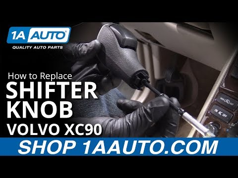 How to Replace Shifter Knob 03-13 Volvo XC90