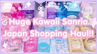 Huge Kawaii Sanrio Japan Shopping Haul!!!