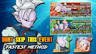 DONT SKIP THIS EVENT! FASTEST METHOD TO GRIND IT OUT! DONT WASTE TIME! | DRAGON BALL Z DOKKAN BATTLE