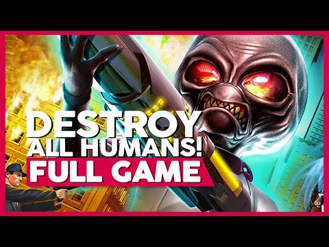 Destroy All Humans! | Full Playthrough (PS2/PS4 | 1080p | 60 FPS | No Commentary)