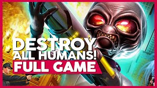 Destroy All Humans 1 | PS4 | Full Gameplay/Playthrough | No Commentary