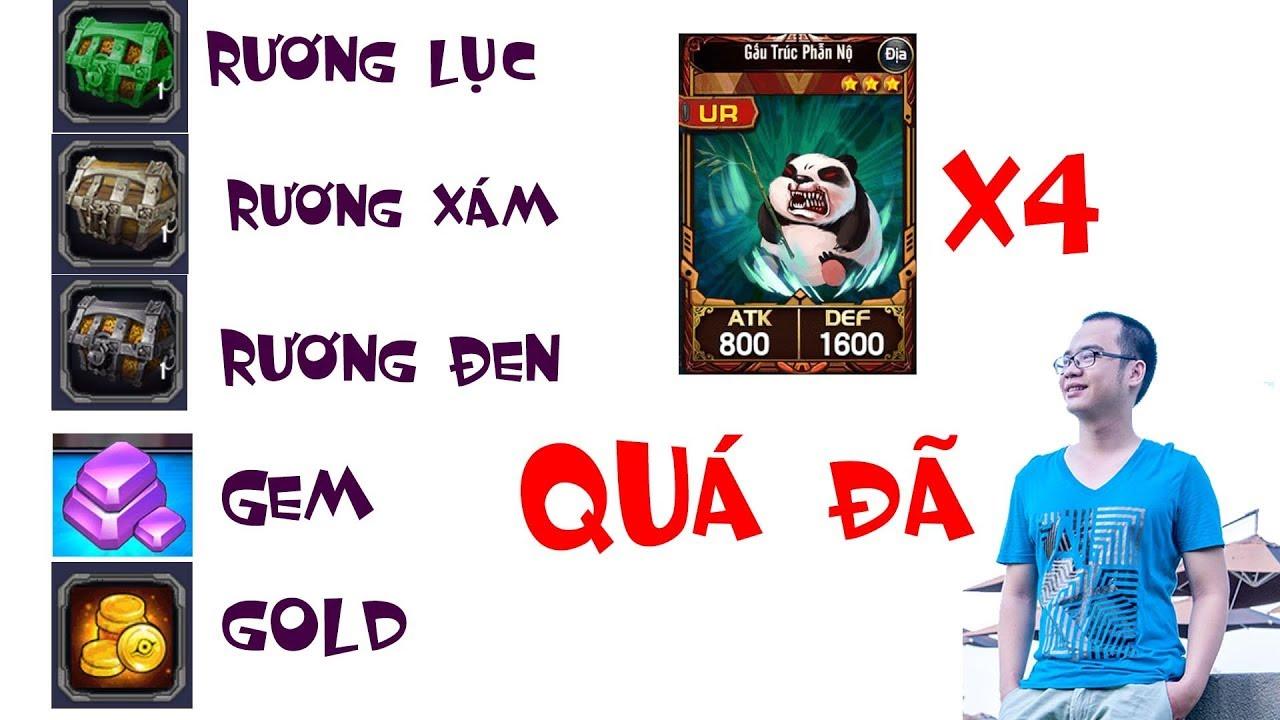 Event YUGI H5 Nhận RƯƠNG-GEM-GOLD-Bài Vip-Game giải Trí