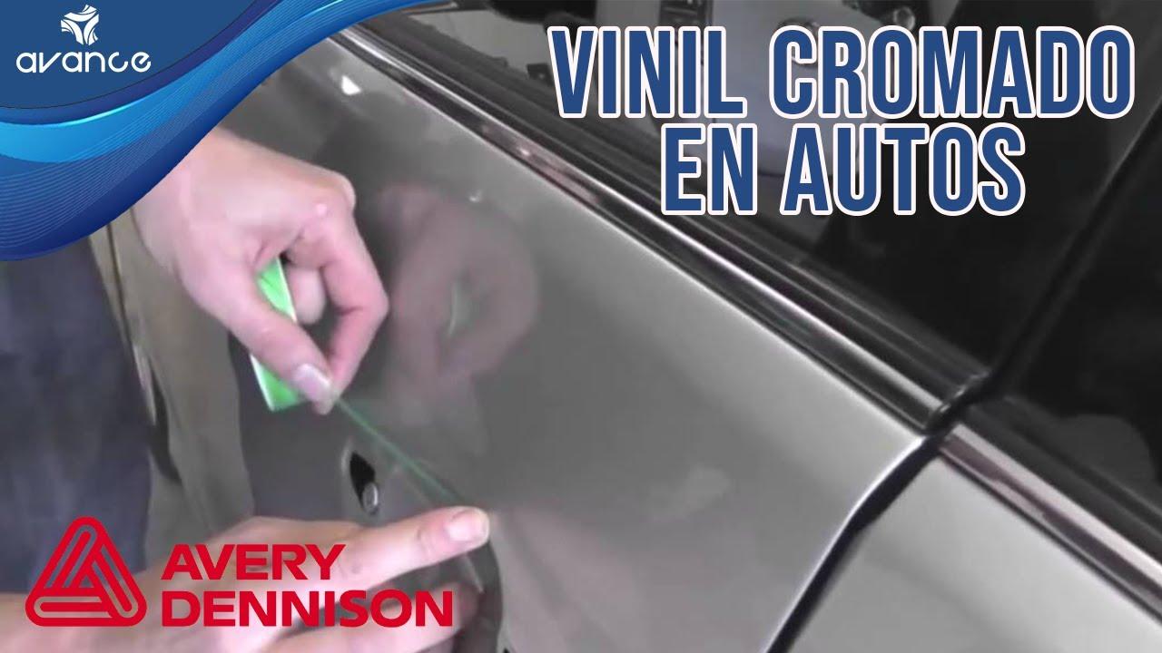 Instalaci n de vinil cromado en veh culo tuneo en autos for Vinilos para piezas