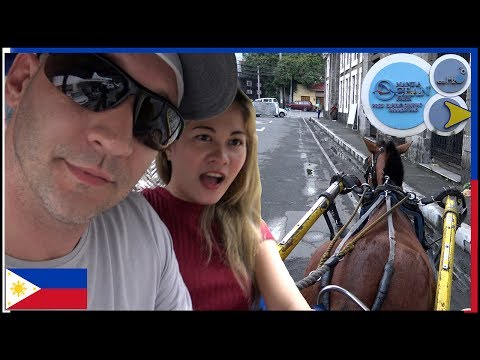Horse Carriage Ride - Attempting to visit Manila Ocean Park