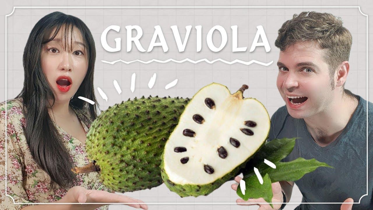 숙취가 사라지는 맛? 브라질 여행하다가 산 신기한 과일 맛보기!   국제커플 브이로그