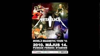 Metallica Budapest radio promo (2010)