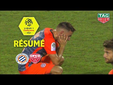 Montpellier Hérault SC - Dijon FCO ( 1-2 ) - Résumé - (MHSC - DFCO) / 2018-19