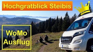 WoMo-Ausflug: Stellplatz Hochgratblick Steibis