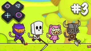 Ударный отряд КОТЯТ из STEAM 3 серия Мультик ИГРА Strike Force Kitty