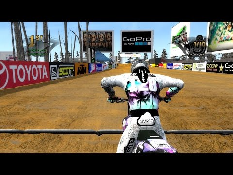 MX vs. ATV Reflex Custom Track | MX Fun