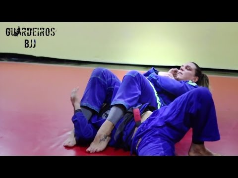 Armlock from back with Gabi Garcia - Guardeiros BJJ