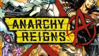 CGR Trailers - ANARCHY REIGNS Sasha Trailer for PS3 and Xbox 360
