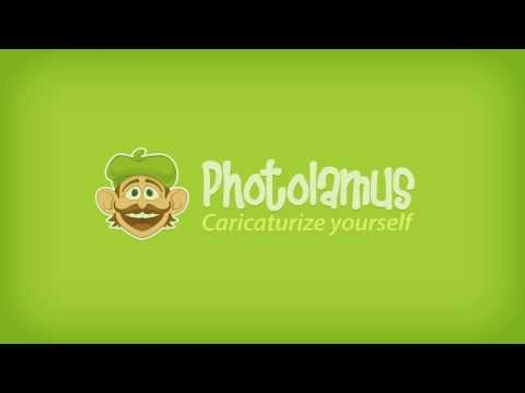 Photolamus - hand-drawn caricatures from photos!