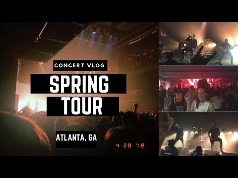 Parkway Drive Spring Tour Vlog (Atlanta, GA)