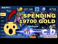 Spending ALMOST 200 THOUSAND GOLD!!! Top 1 player of MED