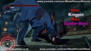6 Ways How Kingpin Kills Spiderman! The Amazing Spider Man 2 Walkthrough Super Hero Difficulty Max