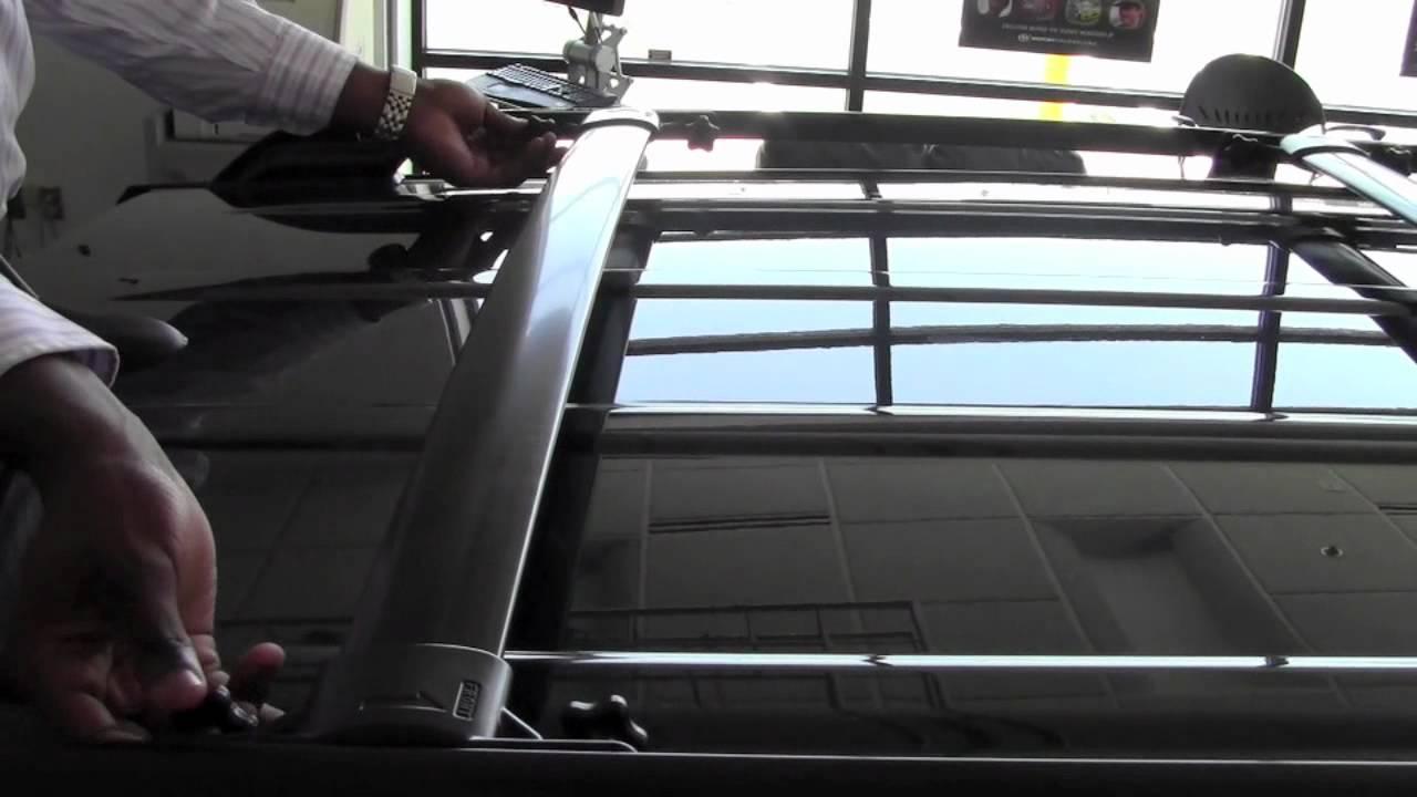 2011   Toyota   RAV4   Roof Rack Cross Bars   How To by ...