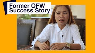 Former OFW Success Story: Success in business after working abroad | PinoyHowTo