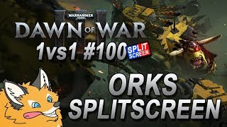"Dawn of War 3 Orks 1v1 VS ""Borg4roll"" (Space Marines) Gameplay Commentary #100"