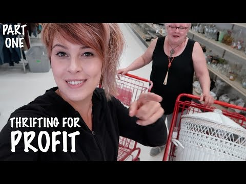 Vintage Thrifting For Resale Thrift With Us Reselling Youtube