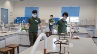 Publication Date: 2020-05-26 | Video Title: 全校抗菌塗層噴灑日花絮