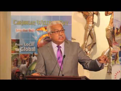 Terrence Deyalsingh Minister of Health, Trinidad and Tobago
