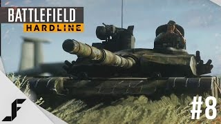 Battlefield Hardline Walkthrough Part 8 - TANK BATTLE