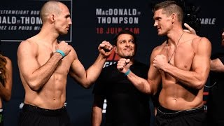 Rory MacDonald vs. Stephen Thompson | Weigh-In | UFC ON FOX