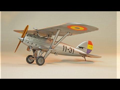 Azur 1/72 Hispano Nieuport 52 NiD