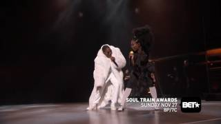 """Brandy & Mase Perform """"Top Of The World"""" At Soul Train Awards 2016"""