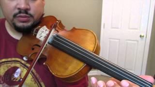 "Como Tocar Violin ""Cielito Lindo"" Pt 1 (con guia)"