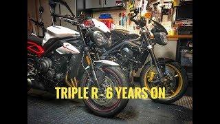 2018 Triumph Street Triple R - 6 Years of Evolution