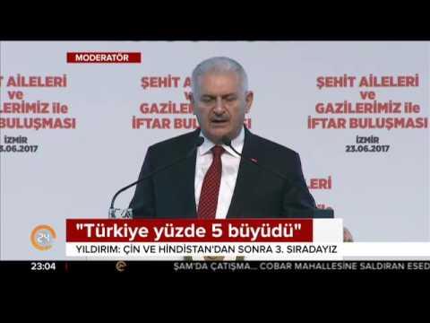 Başbakan quot Türkiye'nin ekonomisi çöker quot diyenler şimdi bu söylediklerinde