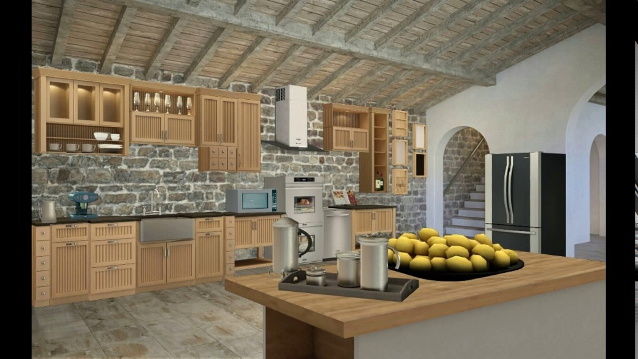 Homestyler kitchen design - YouTube