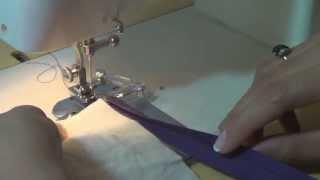 Como costurar viés com aparelho para viés – ModaByNill