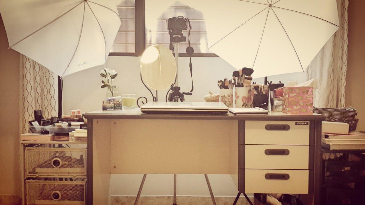 La habitaci n del maquillaje mi colecci n como lo - Como pinto mi habitacion ...
